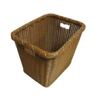 Quality Solid PP Wicker Laundry Basket With Handles By Handmade , OEM / ODM wholesale