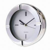 Quality Round Shape Desk Clock, Made of Metal, High Quality wholesale