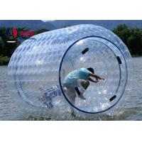 Quality Outdoor Inflatable Zorb Ball / Water Roller Ball For Kids , Earth Friendly wholesale
