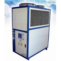 Quality Scroll Compressor Air Cooled Water Chiller , Low Noise Fan Motor wholesale