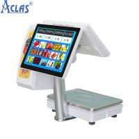 Buy cheap Touch Screen POS Scale With Best Price,PC Scale,Electronic Scale,Balance,Electronic Balance product