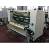 Quality Stationary Bopp Tape Slitter Rewinder Machine For Double Sided Tape / Masking Tape wholesale