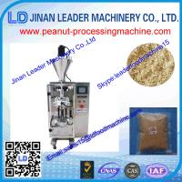 Quality Automatic high speed peanut vacuum package machinery for peanuts paste 150-400kg /h wholesale