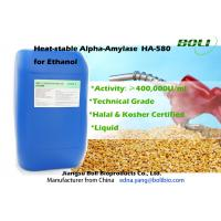 Quality High Purity Technical Grade Ethanol Enzyme , 400000 U/ml Liquefaction Enzyme wholesale
