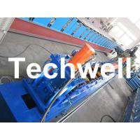 Quality Rolling Shutter Door Track Roll Forming Machine With 16 Forming Station TW-DTM45 wholesale
