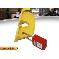 China Nylon Breaker Lockout Tagout , 60g Yellow Circuit Breaker Loto Devices on sale
