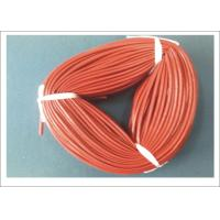 Quality Silicone Coated Fiberglass Tube 5mm ID For Electric Insulation / Wire Leads Protection wholesale