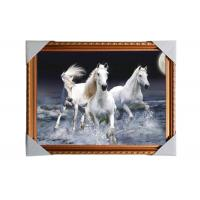 Quality 3D Art Custom Lenticular Printing Pictures Offset Print PS Frame For Home Decorative wholesale