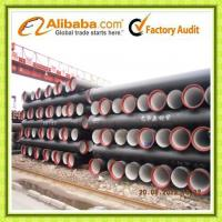 China Tianjin Ductile iron pipes & fittings comply with ISO 2531/BS EN 545/598 on sale