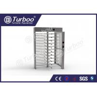 Quality Full Height Gate , Turnstile Security Products 30 Persons / Min Transit Speed wholesale