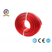 UV Resistance 16mm2 Single Core Solar Cable 9.2mm OD Dual Insulated