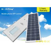 Buy cheap Energy Saving 80 W Integrated Solar Led Street Light / Traffic LED Road Lamp from wholesalers
