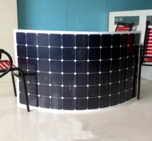 Quality The Best quality USA Sunpower Flexible solar panel 220W~250w for Yacht boat golf car etc wholesale