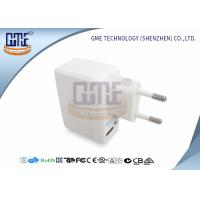 Quality White Universal Travel Power Adapter 5V 1A With ROHS GS Certificated wholesale