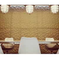 Quality 3d Wall Board   Waterproof  Vinyl Coated Wall Paper  for Backgrond Wall decoration wholesale