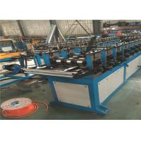 Buy cheap Hydraulic Cutting Door Frame Roll Forming Machine , 12kw Door Frame Making Machine from wholesalers