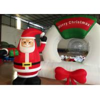 China Strong Oxford Outdoor Christmas Blow Ups , Snowman Inflatable Christmas Lawn Decorations on sale