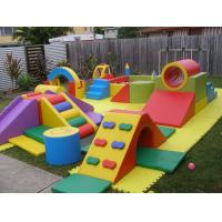 China Creez Hand Made Kids Indoor Playground Equipment , Soft Play Equipment Themed Design on sale