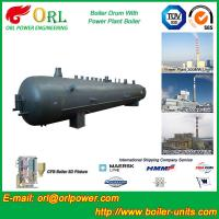 Quality Industrial Steam Boiler Mud Drum Anti Corrosion Stainless Steel Body wholesale
