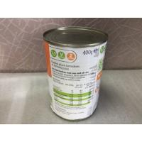 Quality 330ml Round Beverage Empty Metal Cans , Recycle Tin Cans For Food Fruit wholesale