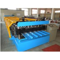 Quality Manual De - Coiler Cnc Cold Roll Forming Machine 8 - 15m / Min Speed wholesale