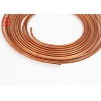 Quality 5 / 16 Inch Copper Pancake Coil Custom Length For Refrigerator / Water Heater wholesale
