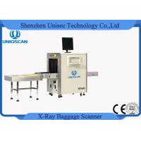 Quality Airport Baggage X Ray Machine Sf5636 Dual Energy Scanner Ce / Iso Certificated wholesale