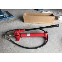 CP-700 Manual Hydraulic Oil Pump , Protable Hydraulic Hand Pump Steel Material