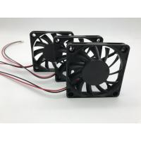 China 60 Mm Computer Cooling Fans Ball Bearing 12V DC Plastic Housing Low Noise on sale