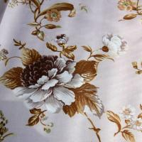 Quality 100% polyester voile free sample patterned voile curtain wholesale