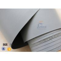 Quality 7628 320g Waterproof PVC Coated Fiberglass Fabric For Flexible Air Ductwork wholesale