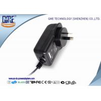 Quality Australia Black 2 Prong 24W 12V 2A Wall Mount Power Adapter With RCM Certified wholesale