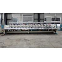 Quality Flat / Hat Double Sequin Embroidery Machine For Shirts With 850 RPM Speed wholesale