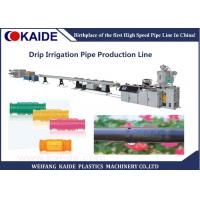 Quality Plastic PE Pipe Production Line , Drip Lateral Manufacturing Machine wholesale