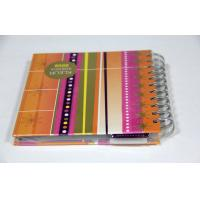 China A4 A3 Colorful Notebook Softcover Book Printing Service With Spiral Binding on sale