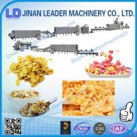 Quality Breakfast Cereal Corn Flake Processing Machine maize flakes machinery wholesale