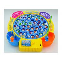 Quality Funny Plastic Children's Play Toys Fishing Game Battery Operated With Music wholesale