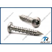 Quality 410 Stainless Steel Concrete Screws, Torx Pan Head, Passivated wholesale