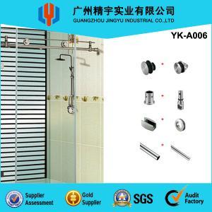 Quality Guangzhou Jingyu stainless steel glass sliding door, frameless automatic sliding glass doors wholesale