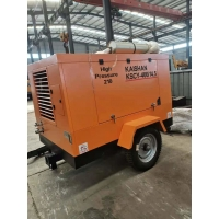 China Tunnel 400cfm 14.5 Bar Portable Diesel Engine Rotary Air Compressor on sale