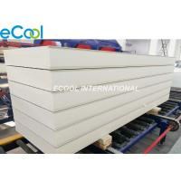 Quality PUR Thermal Insulated Sandwich Panels Machine Produced 1 Year Warranty wholesale