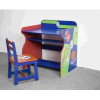 Quality Wooden Sports Themed Drawing - Study Desk Chair Set For Toddler wholesale