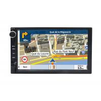 Cheap Automotivo Universal Double Din Car Dvd Player , Central GPS DVD 7 Inch Touch Screen for sale