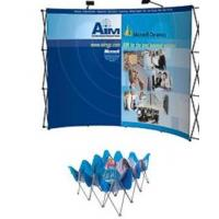 China fabric pop up trade show exhibit,fabric pop up exhibit displays on sale