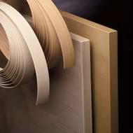 China wood grain trim PVC/ABS edge banding on sale