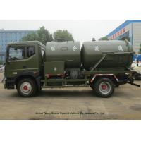 Quality Heavy Duty Septic Vacuum Trucks For Oilfield / Fecal / Sewer Cleaning wholesale