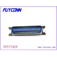 China Plug Male Solder 24 Pin Centronics Connector Hard Type Connector on sale