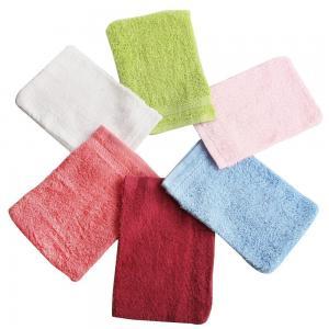 Cheap 6pcs/lot Bath Glove Luva 100% Cotton Spa Scrubbing Bath Towel Sponge Shower Gloves Intrafa for sale