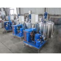 Cheap 1000L AISI304 Milk Cooling Tanks With CIP Cleaning Device Cool Milk Machine Tank With Best Price  Dairy Farm Milking Pro for sale
