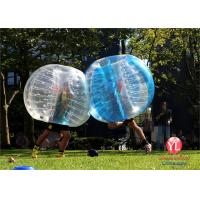 Quality Commercial Inflatable Bubble Ball Soccer 1.2m Dia / 1.5m Dia / 1.8m Dia wholesale
